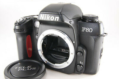 Nikon F80 35mm SLR Film Camera Body Only [Excellent] w /cap From Japan