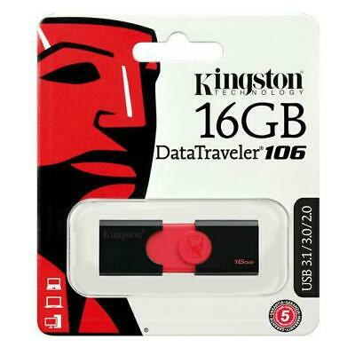 Kingston DT100G3 16Go Data Traveler 100 G3 Lecteurs Flash Clé USB 3.0