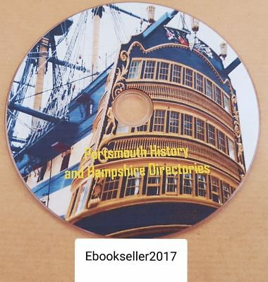 pdf ebooks History of Portsmouth, Hampshire genealogy directories on disc for PC