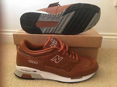 NEW BALANCE 1500 TN Leather Trainers Made In UK size 7.5