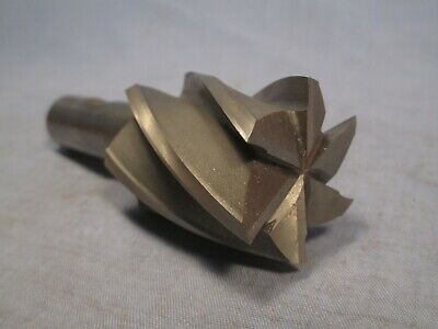 """1.475 """" approx. dia. 6 Flute HSS End Mill - Resharpened /     MY 223"""