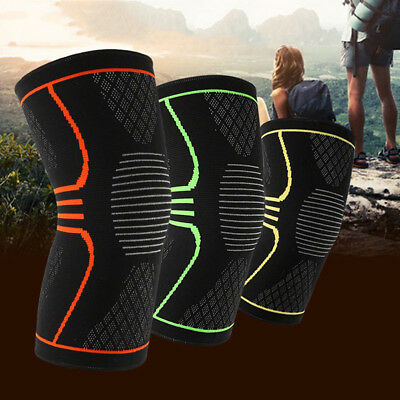 BU_ Unisex Copper Knee Recovery Compression Sleeve Support Protective Brace Eyef