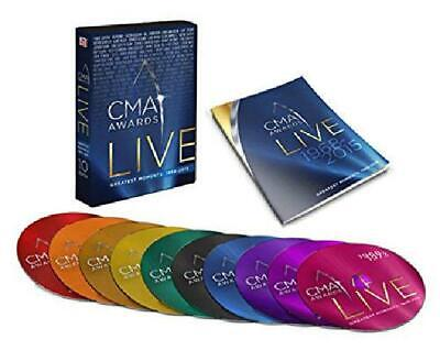 CMA Awards LIVE - Collaborations 127 Performances on 10 DVDs SET (Time Life)