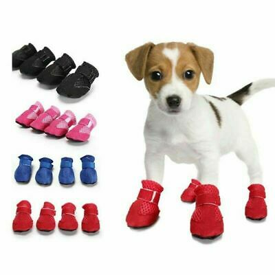 Anti Slip Pet Dog Puppy Shoes Protective Rain Boots Dog Booties Sock Lovely #XU