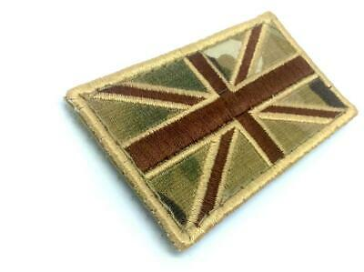 Union Jack Great Britain Multicam Flag Embroidered Airsoft Tactical Patch
