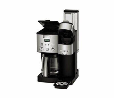 Cuisinart SS-15 Maker Coffee Center 12-Cup Coffeemaker and Single-Serve Brewer,