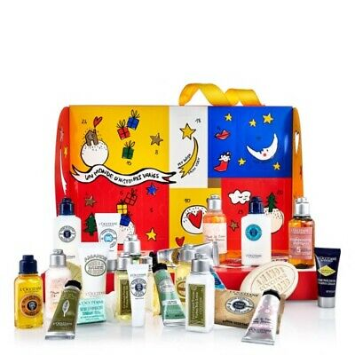 L'Occitane Beauty Advent Calendar 2018 New In Box Gift Set