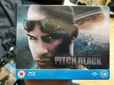 Pitch Black STEELBOOK Blu Ray - play.com uk exclusive Rare and OOP (R2) sealed