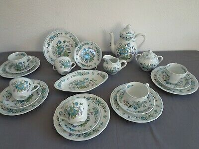 Spode Mulberry Kaffeeservice 22 Teile England
