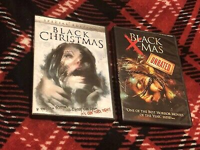 Black Christmas Blu-Ray & DVD Original Special Edition & Unrated Remake DVD