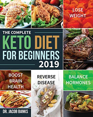 Jacob Banks-Complete Keto Diet For Beginners #2019 (US IMPORT) BOOK NEW