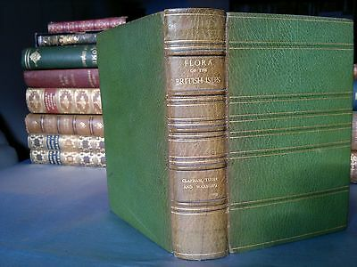 1952 Flora of the British Isles by Clapham, Tutin & Warburg - full leather