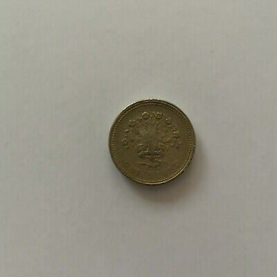 1992 Northern Irish Flax One Pound - Circulated READ DESCRIPTION - NOT GENUINE