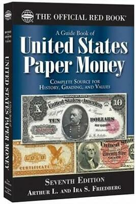 New Official Red Book Guide For United States Paper Money US Currency Catalog