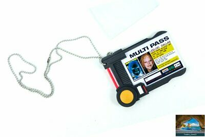 Fifth Element Leeloo Dallas Multipass Replica Prop ID Badge Holder * 5th cosplay