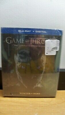 New Game Of Thrones Seventh Season 7 Seven Blu Ray + Digital Free 1St Cls S&H