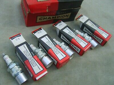 4 New Champion C5 Spark Plugs Fordson E27N & Classic Tractor & Station Engines