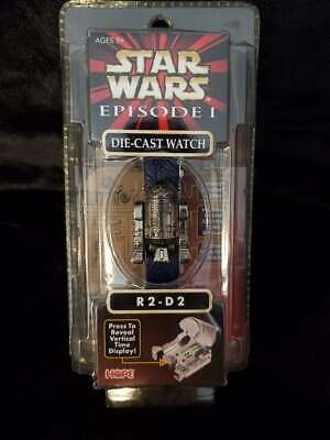 Star Wars R2D2 Diecast Watch - Brand New and Sealed - Vintage 1999 - Episode 1