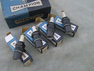 4 New Champion C5 Spark Plugs Fordson E27 N & Classic Tractors Stationary Engine