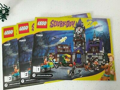 LEGO Scooby Doo Mystery Mansion Fresh Box 75904 Sealed NEW Retired Halloween