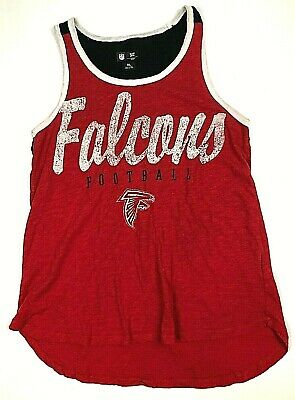 the best attitude 27b26 e3522 NFL ATLANTA FALCONS Women's Strappy Tank Top For Her Red ...