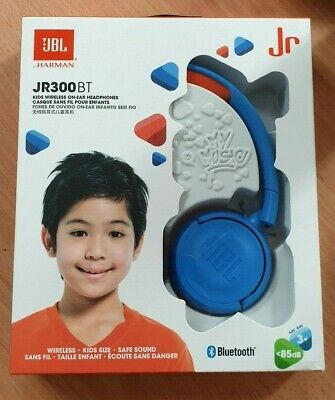 c1db12c3068 GENUINE NEW JBL JR300BT Kids Wireless On-ear Headphones w/ Kid ...