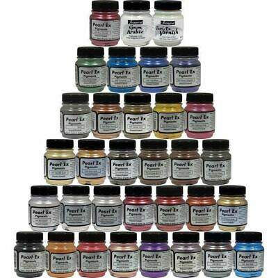 Jacquard PEARL EX POWDER PIGMENTS 21g Full Color Range ALL 49 OVER $563 Value