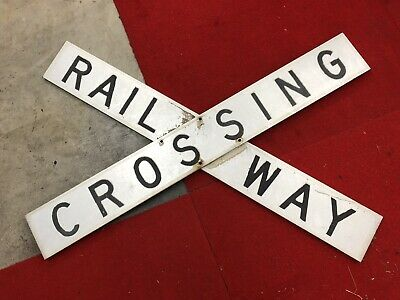 Victorian Railways Railway Crossing Sign