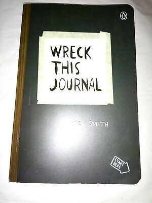 Wreck This Journal by Keri Smith (2012, Paperback, Expanded Edition, Black)