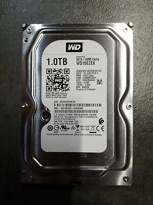 Western Digital Blue 1TB SATA 7200 RPM internal hard drive WD10EZEX 64MB cache