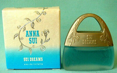 SUI DREAMS *MINIATURE PERFUME ANNA SUI  0.13 Oz - 4 ML *MINI EDT Collectible