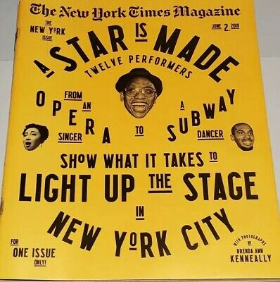 The New York Times Magazine June 2, 2019 The New York NYC Issue /opera/subway!