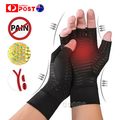 Compression Joint Finger Pain Relief Hand Wrist Support Brace Arthritis Gloves
