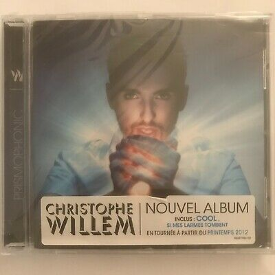Christophe Willem prismophonic cd 12 titres neuf sous blister