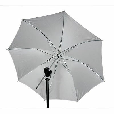 "33"" Studio Video Umbrella Translucent Photography Soft Light Photo Wedding White"