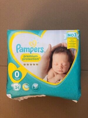 24 Windeln,Pampers Premium Protection New Baby Micro Gr. 0 Newborn 1,5-2,5kg