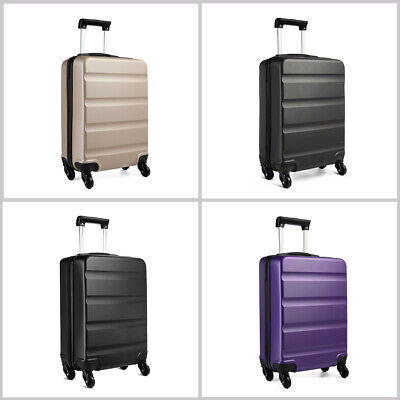 Ryanair Cabin Hand Luggage 4 Wheels Suitcase ABS Travel Case Travel Hold Bag