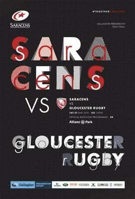 * 2018/19 - Saracens Rugby Home Programmes - Choose From List *