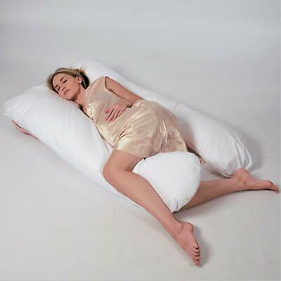 Night Pregnancy Pillow–Extra Long Full Body Maternity Pillow Supports Back,Knees