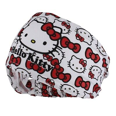 Official Hello Kitty - Bows Cat Print - Girls Headband - White / Red