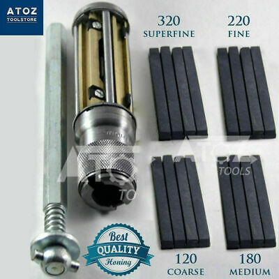 "4x Diamond stones + CYLINDER ENGINE HONE KIT- 2.1/2"" to 5.1/2"" Honing Machine"