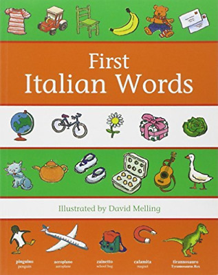 First Italian Words (UK IMPORT) BOOK NEW
