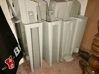 Four Sanitary Bins All With Lids All New Toilets Sanitary Products