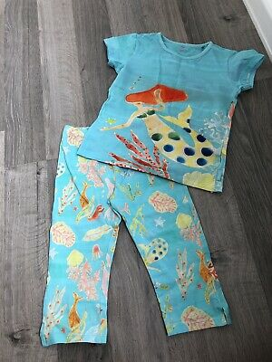 Oilily Girls Top And Crop Leggings Set