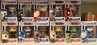 Exclusive Funko Pop Marvel Avengers Lot of 11. Exclusives!