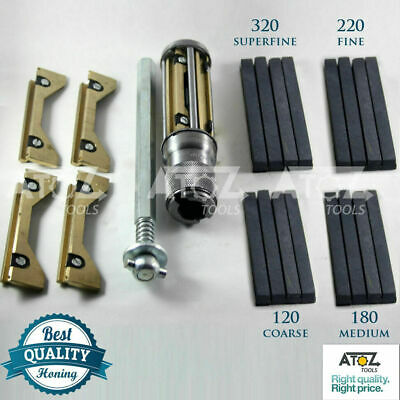 BEST CYLINDER ENGINE HONE KIT 34mm to 60mm Honing Machine + 4 set Honing Stones