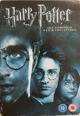 Harry Potter Collection - Years 1-7B - English (DVD, 2011, 8-Disc Set, Box Set)