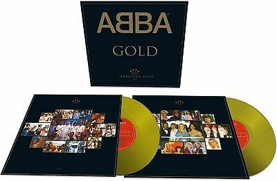 ABBA Gold Greatest Hits Limited Edition 2 gold Vinyl 180g new sealed