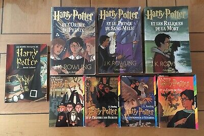 Lot Integrale Harry Potter Tomes 1 A 7 Livres J K Rowling
