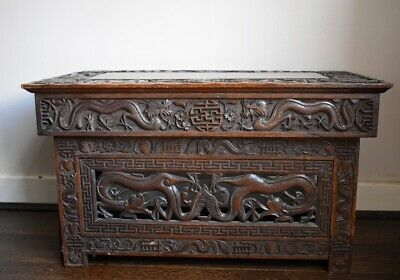 Antique Chinese folding scribe's table